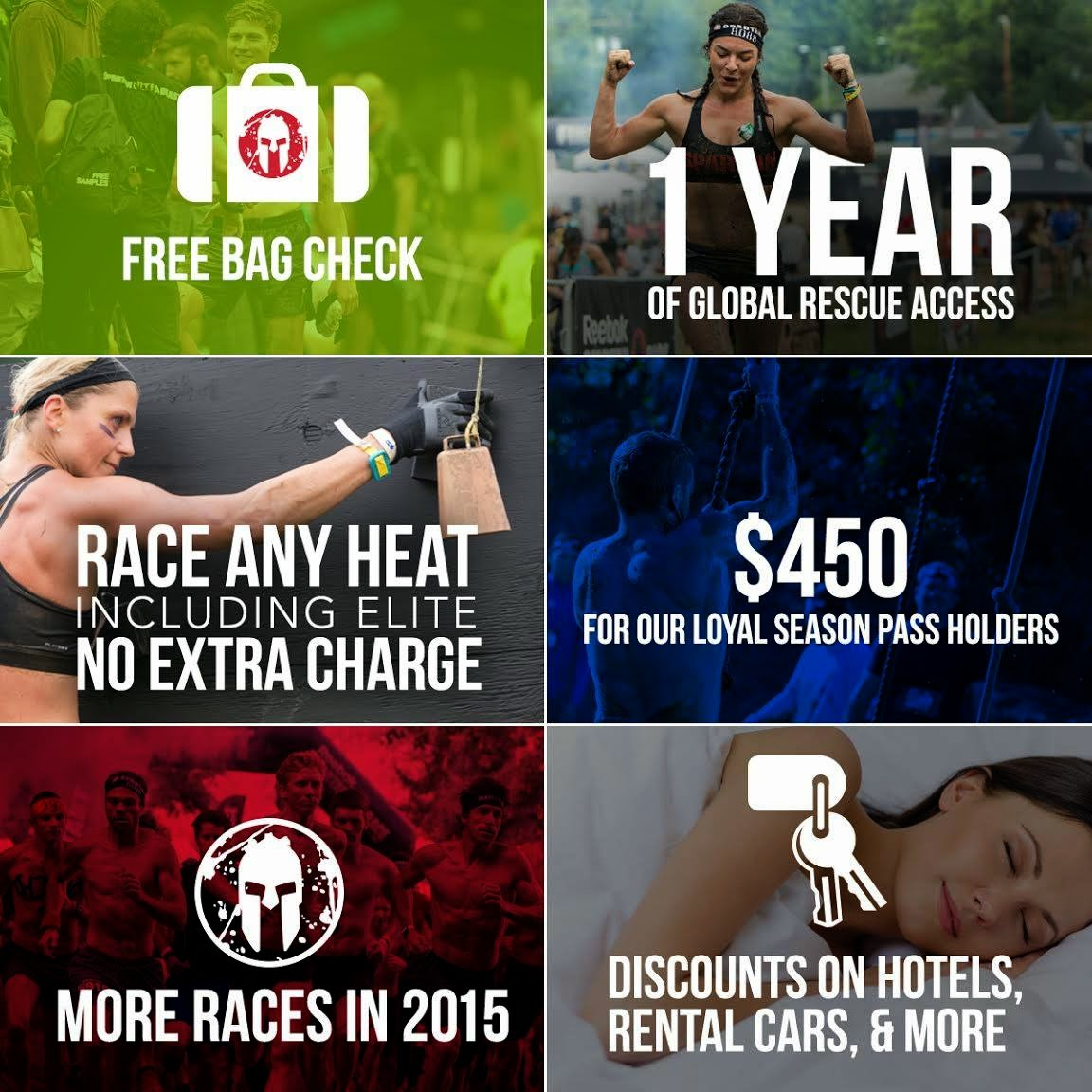 Spartan Race 2015 season pass