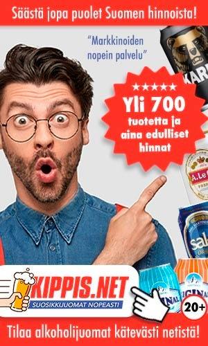 Kippis.net - juomat edullisesti netistä!
