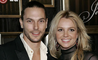 Kevin Federline with his ex-wife Britney Spears