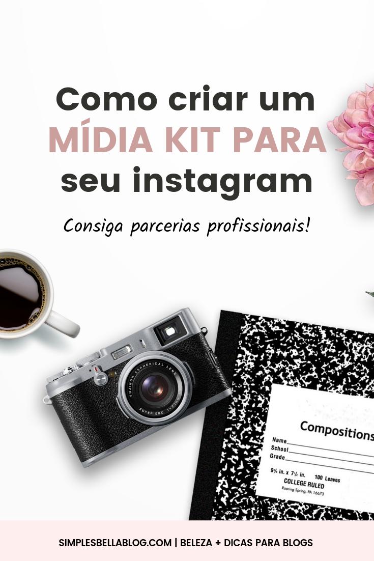 Como criar um mídia kit para Instagram