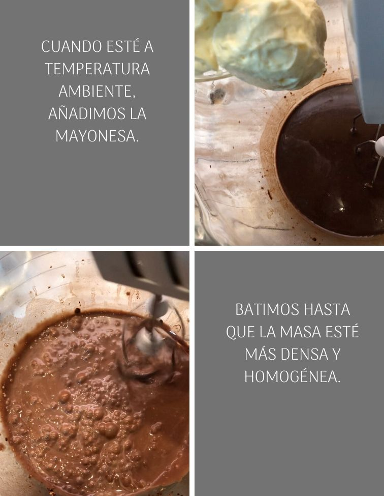 preparacion-chocolate-mayonnaise-bundt-cake