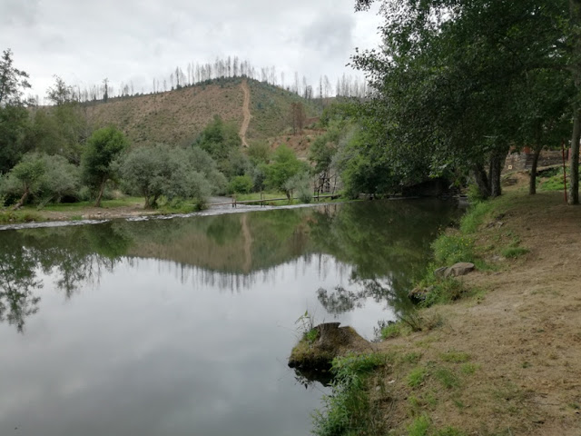 Rio Alva no Vimieiro