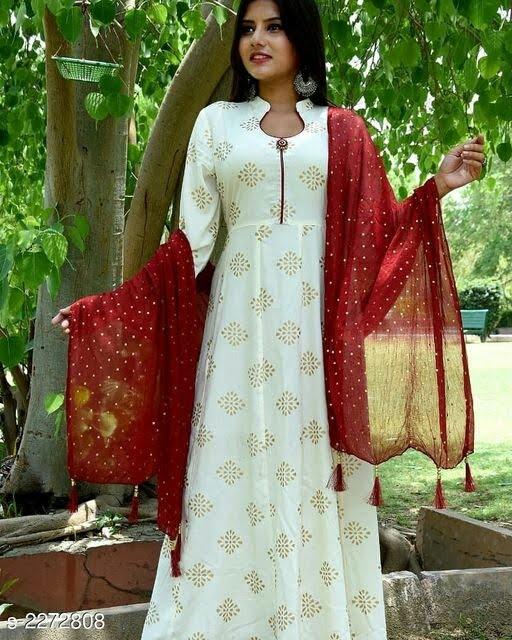 Attractive Cotton Women's Kurta Set