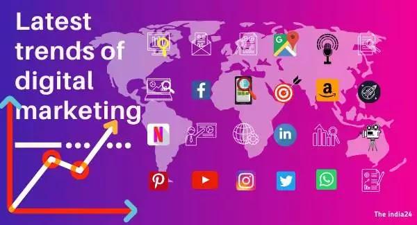 Latest trends of digital marketing