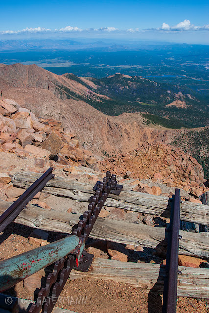 Pikes Peak Cog Railway - End of the Line - Top of Pikes Peak