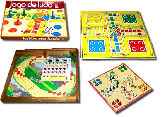 11 Jogos tabuleiro - Ludo