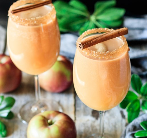 Caramel Apple Mocktail #drinks #thanksgiving