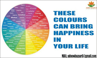 THESE COLOURS CAN BRING  HAPPINESS IN YOUR LIFE