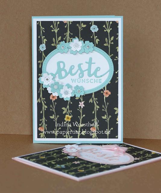 Allerliebst | Beste Grüße | Stampin' up | papiertier Indina | Nicht nur zum Baby | DIY