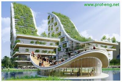 العمارة الخضراء, المباني الخضراء, الأبنية الخضراء, مفهوم الاستدامه في المباني, ما هي العمارة الخضراء, ما هي المباني الخضراء, استخدامات المباني الخضراء, مميزات الابنية الخضراء, بحث في المباني الخضراء, بحث في الأبنية الخضراء