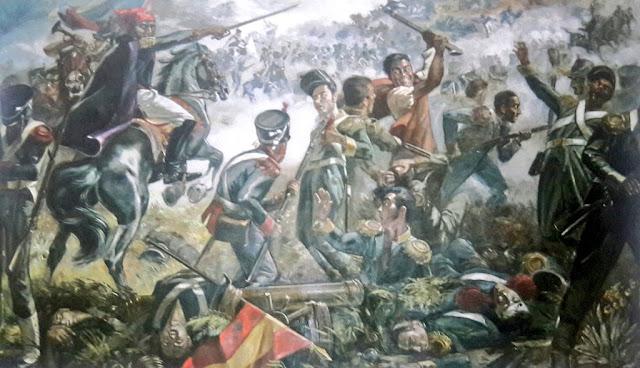 Batalla de Niquitao, por Ivan Belsky