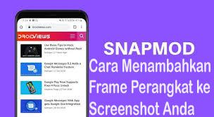Cara Menambahkan Frame Perangkat ke Screenshot Anda 1