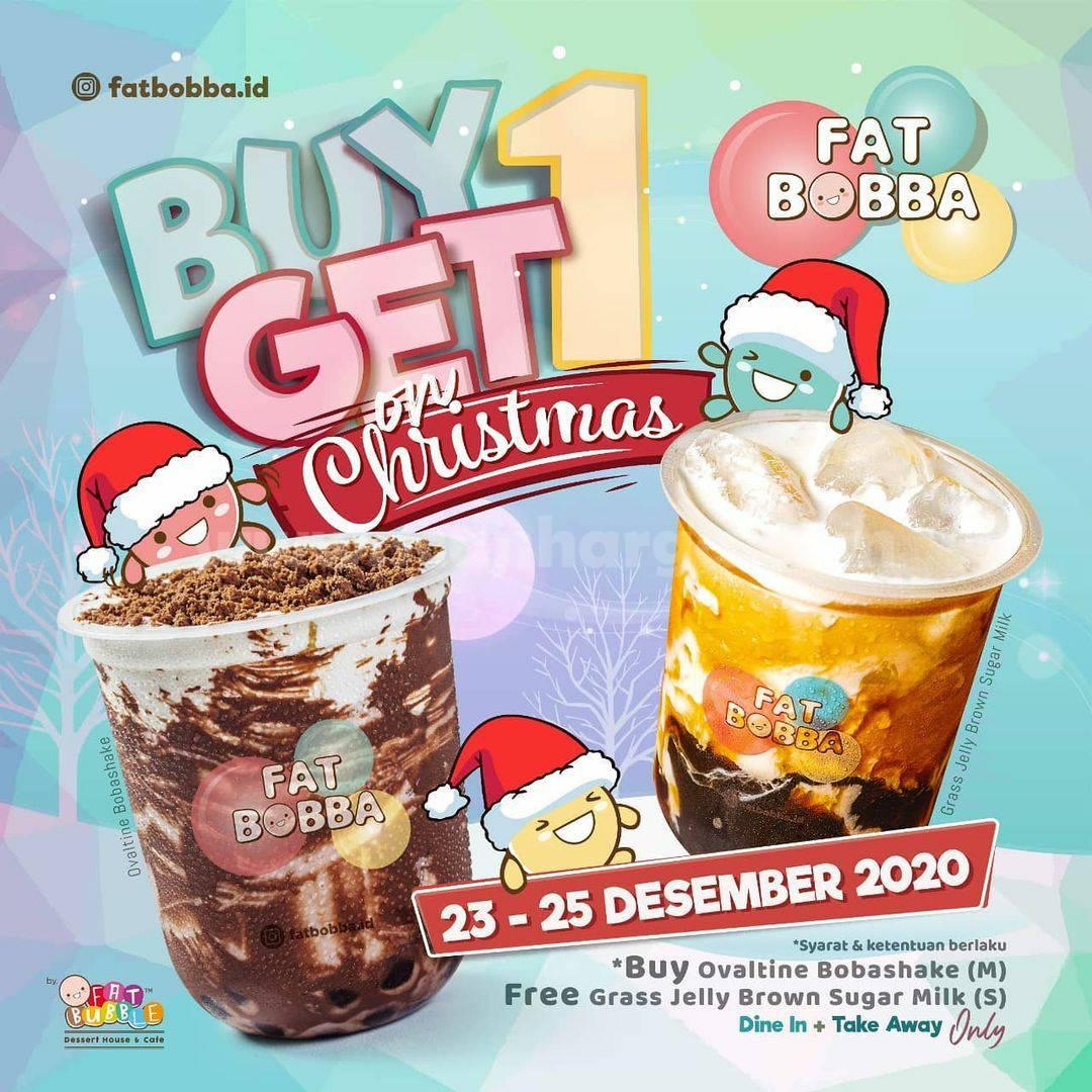 Promo Fat Bobba Terbaru Buy 1 Get 1 Free