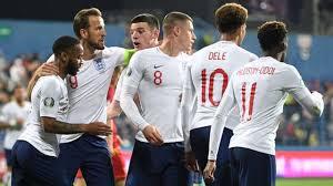 مباراة أنجلترا والجبل الأسود يلا شوت