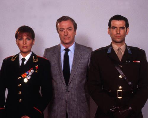 Joanna Cassidy, Michael Caine and Pierce Brosnan