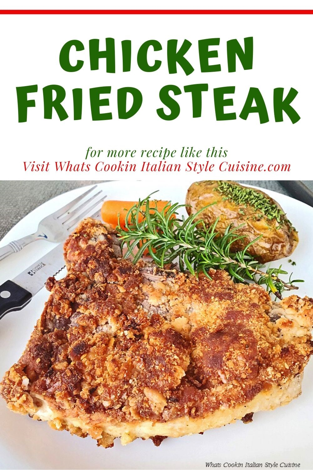 this is a pin for later on how to make chicken fried steak