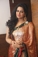 Udaya Bhanu lookssizzling in a Saree Choli at Gautam Nanda music launchi ~ Exclusive Celebrities Galleries 091.JPG