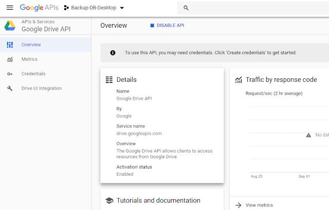 VB .NET Google Drive Api Project Overview