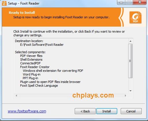 Cài đặt Foxit Reader Full mới nhất trên máy tính 8
