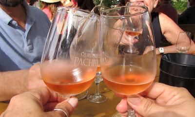 brinde com vinho do Porto