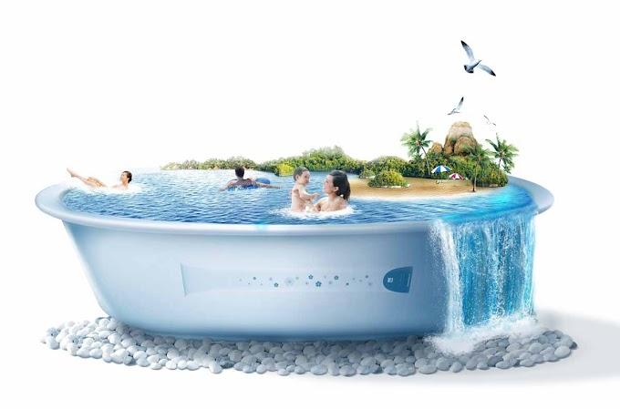 A piscina de Santa Cruz