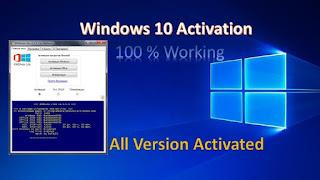 cara aktivasi windows 10 pro menggunakan KMS auto lite
