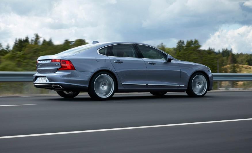 Volvo S90 2017 có thiết kế quá đẹp, có nhiều điểm tương đồng với Mazda 6