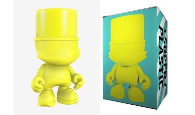 Yellow UberKranky Vinyl Figure by Superplastic