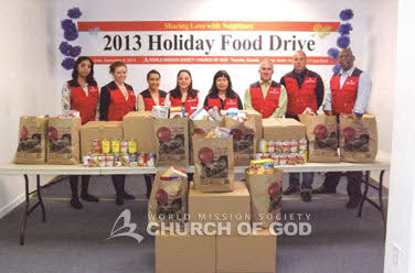 Food Drive in Toronto, ON, Canada