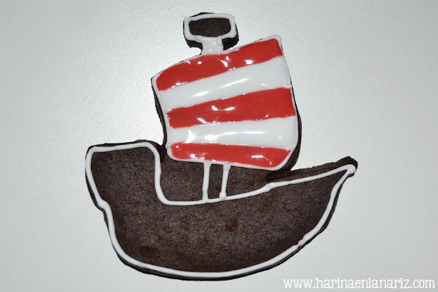 tutorial galleta barco vikingo paso 3