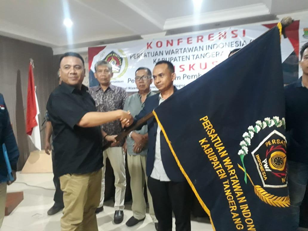 Sangki Wahyudin Kembali Terpilih Jadi Ketua PWI Kabupaten Tangerang