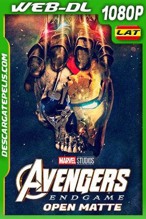 Avengers: Endgame (2019)(Open Matte) HD 1080p WEB-DL Latino – Ingles