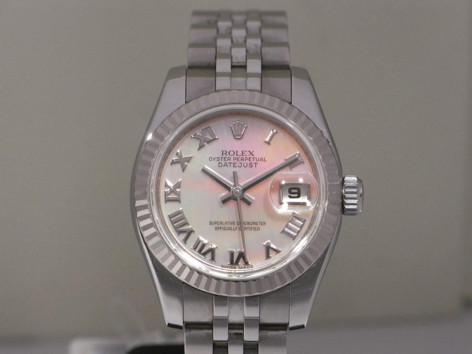 勞力士二手錶行: ROLEX DATEJUST 179174NR