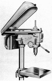 Drill press head
