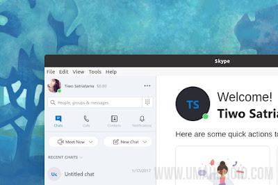 Cara Install Skype Linux Lewat Terminal