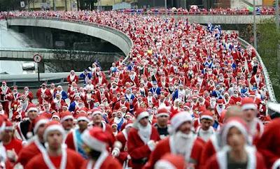 Maratón temática de navidad en reino unido