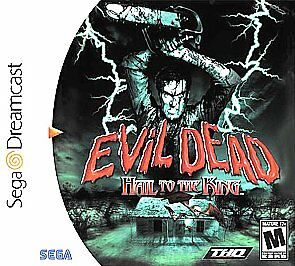Evil Dead: Hail to the King Sega Dreamcast horror game cover art