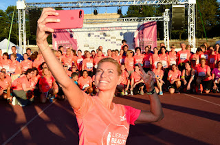 Lierac Beauty Run 2017 - Foto LaPresse