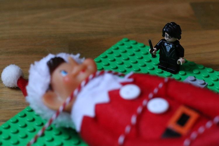 lego joulukalenteri, harry potter