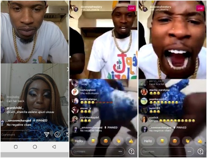 Video: Kenyan Teen Socialite Shakilla Goes Nude in an Instagram Live Video With Tory Lanez