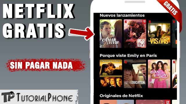 Cómo ver Netflix GRATIS de forma Legal