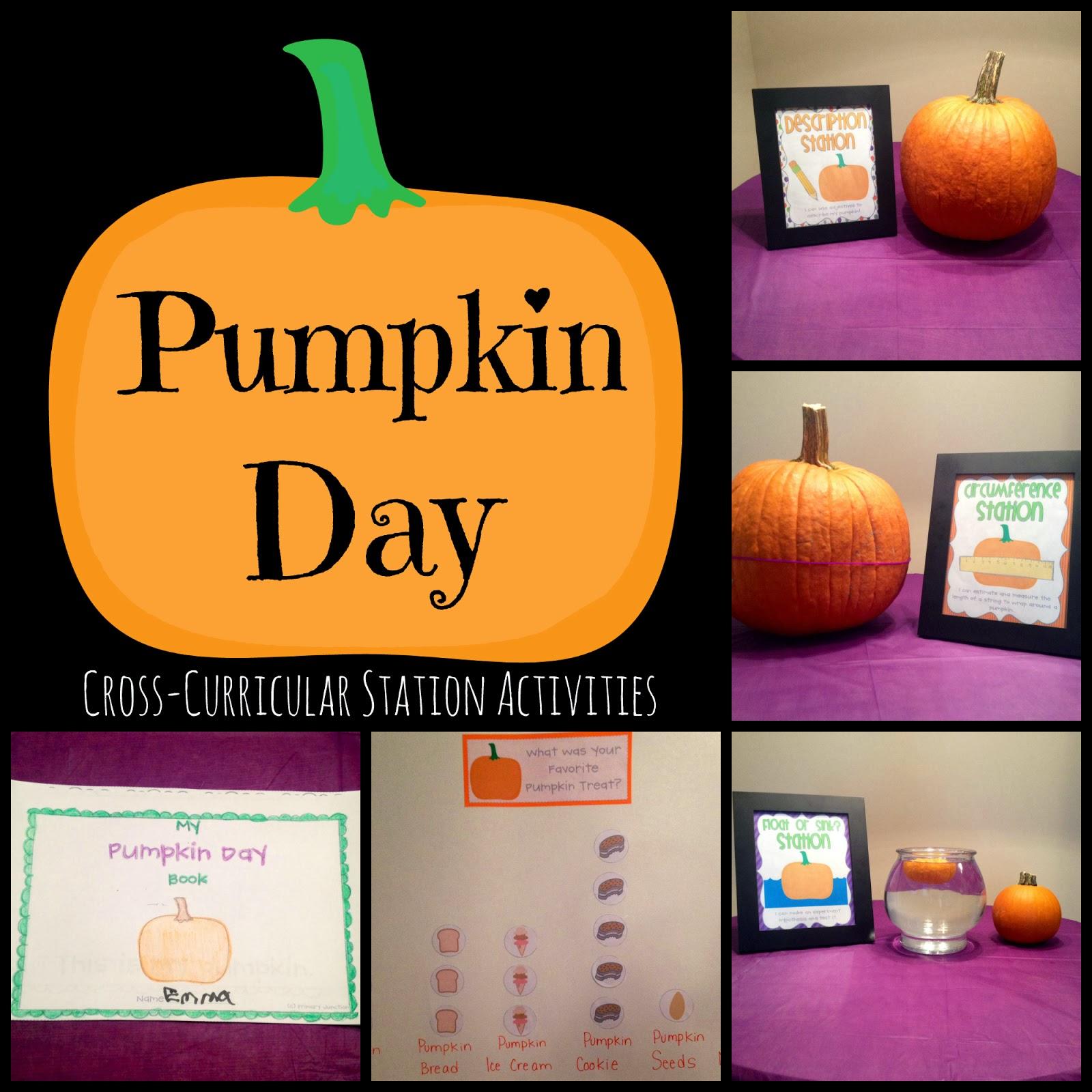 Teaching Blog Round Up Pumpkin Activities