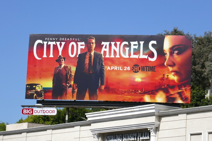 Penny Dreadful City of Angels season 1 billboard