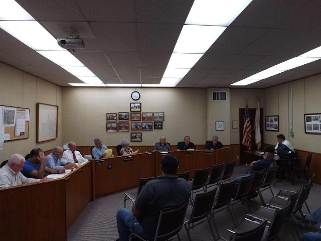 Metamora Village Board Meeting 10/3/2017, Metamora Herald