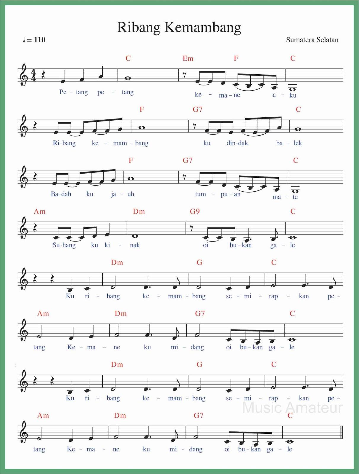 Lagu Daerah Lahat Sumatera Selatan : daerah, lahat, sumatera, selatan, Angka, Ribang, Kemambang, SEPUTAR, MUSIK