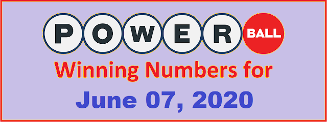 PowerBall Winning Numbers for Wednesday, July 07, 2021
