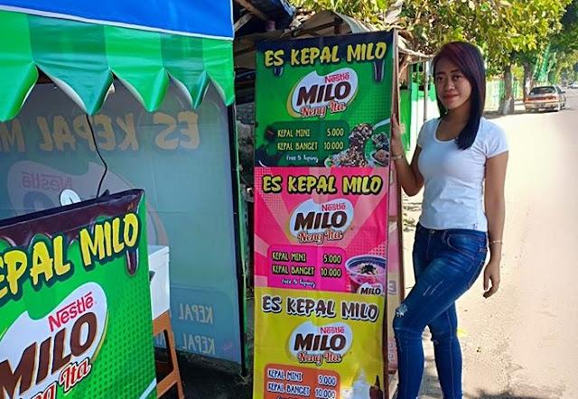 Franchise Es Kepal Milo Murah Meriah Untuk Usaha Kecil Kecilan