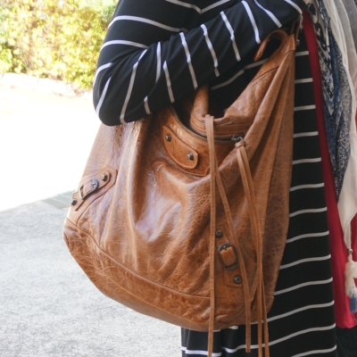 Balenciaga automne brown classic RH day bag