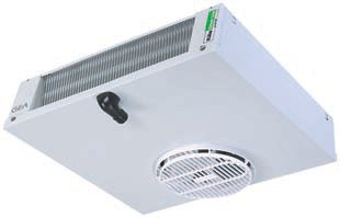 Evaporator air circulation dhilreefer