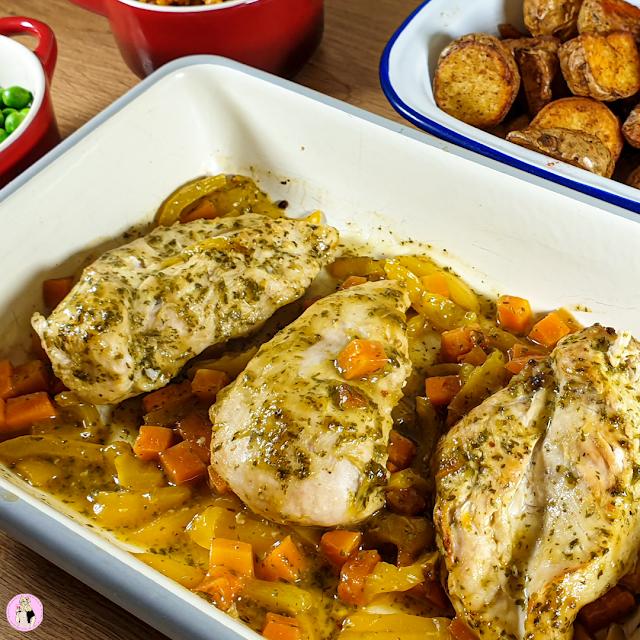 Nandos Style Lemon & Herb Chicken recipe picture, slimming world, healthy